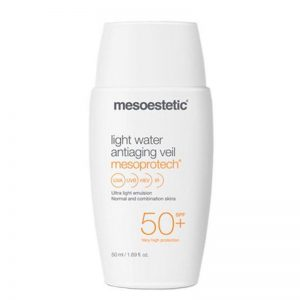 Mesoestetic mesoprotech light water spf50 fluído anti-idade 50ml