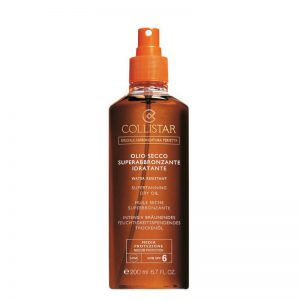 Collistar Supertanning SPF6 Óleo Seco Superbronzeador 200ml