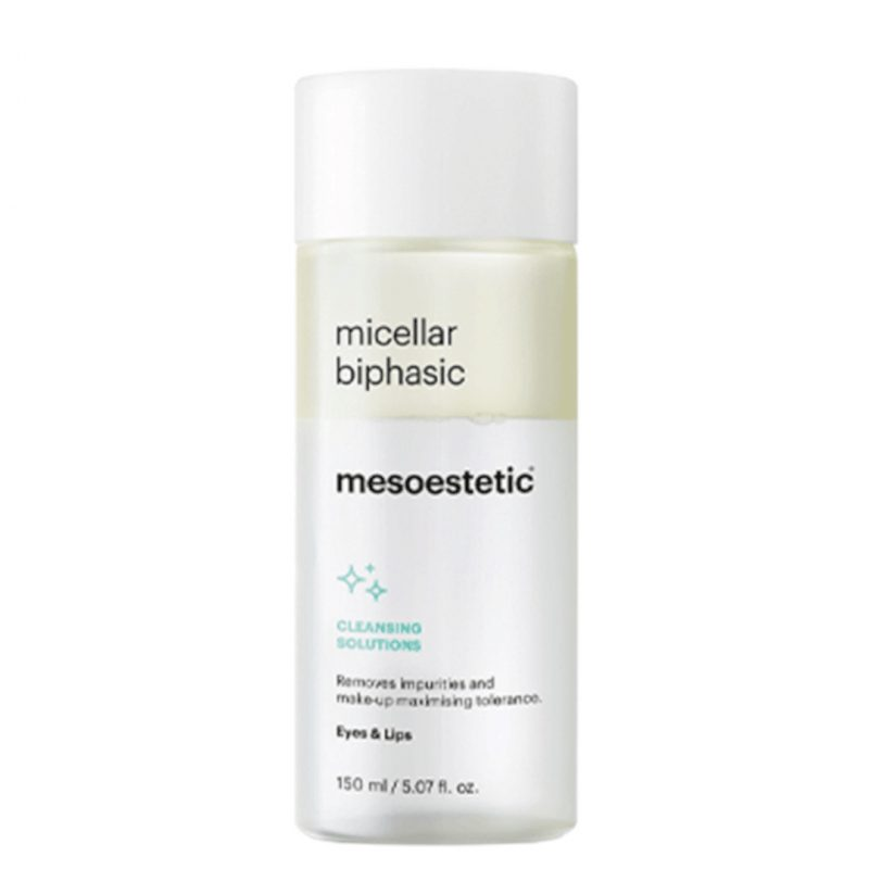 Mesoestetic micellar biphasic desmaquilhante olhos e lábios 150ml