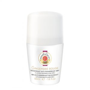 Roger&Gallet gingembre rouge anti-transpirante 48h roll-on 50ml